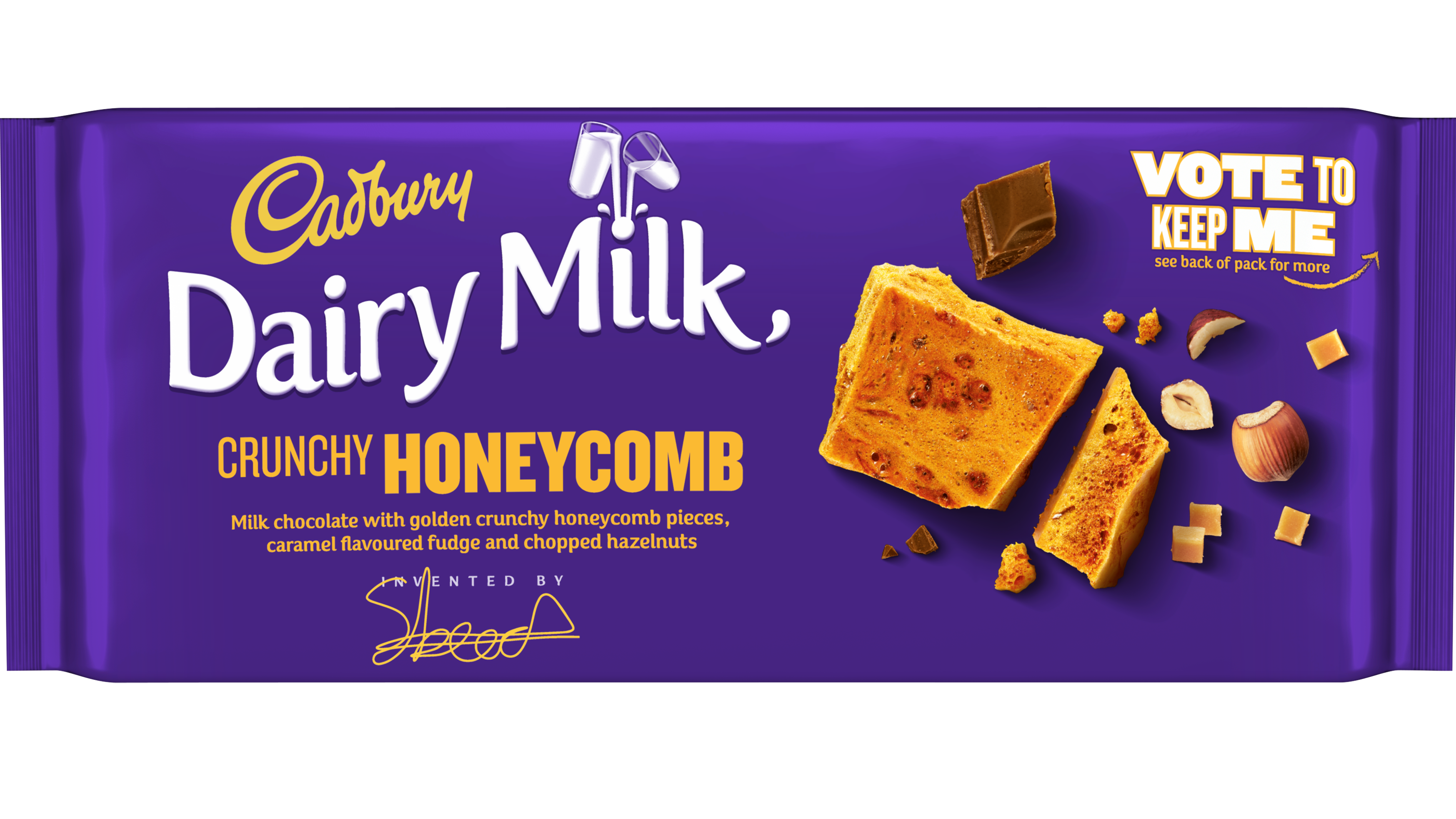 Cadbury Honeycomb - vote - web