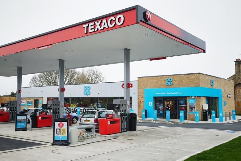 Co-op Texaco Sandford petrol station