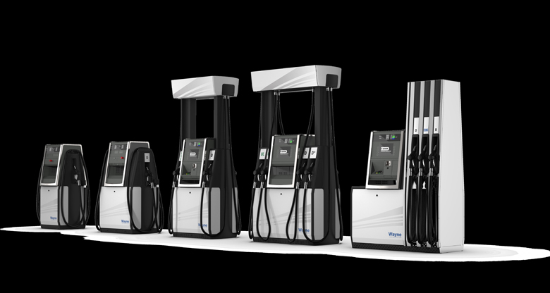 Wayne Helix fuel dispensers